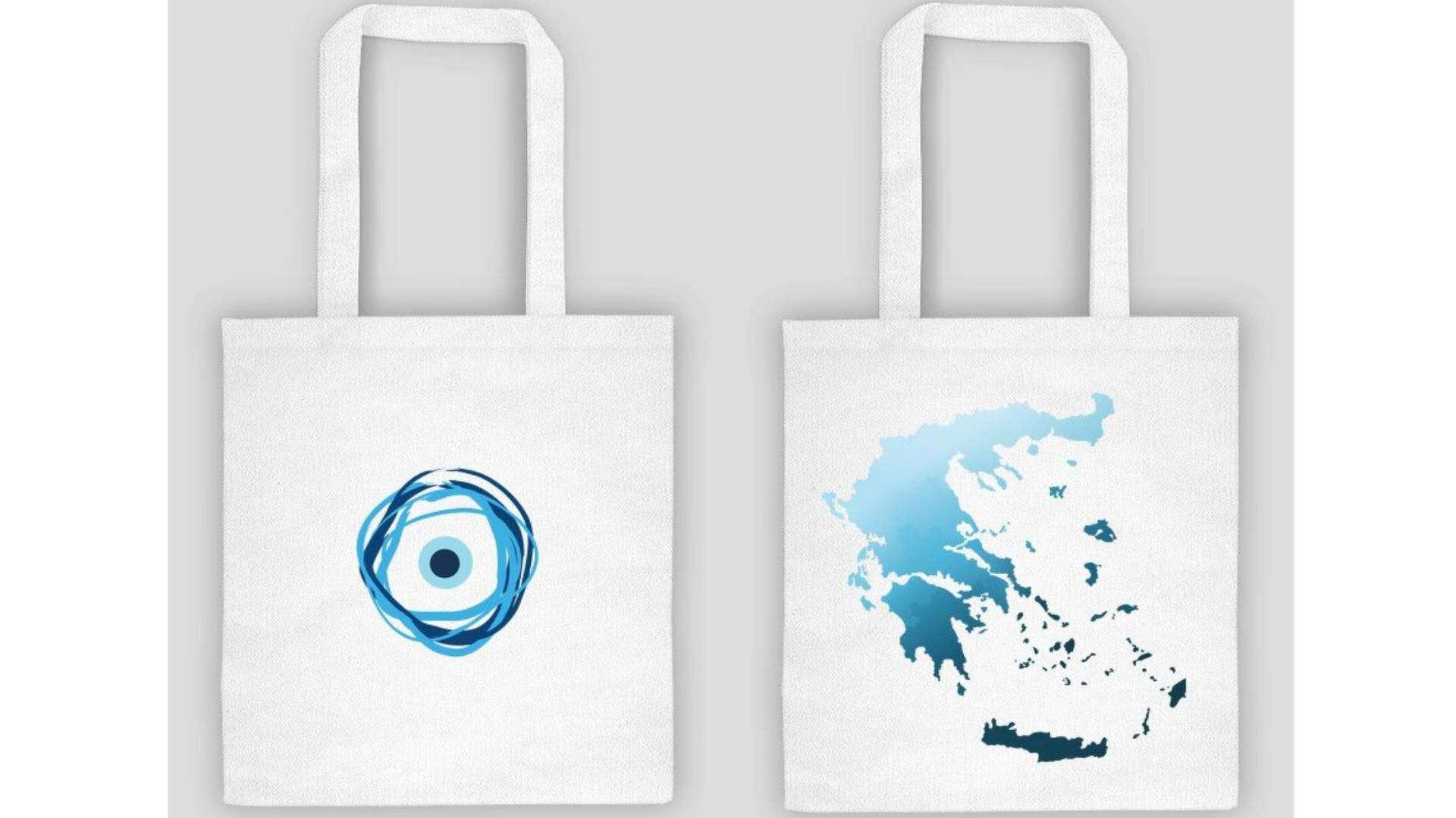 torby z greckim motywem