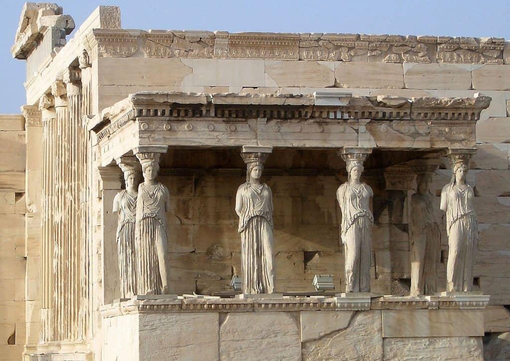 kariatydy na Akropolu