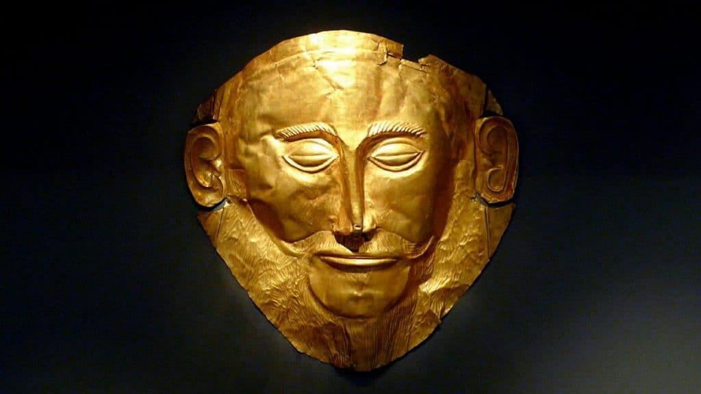 maska agamemnona
