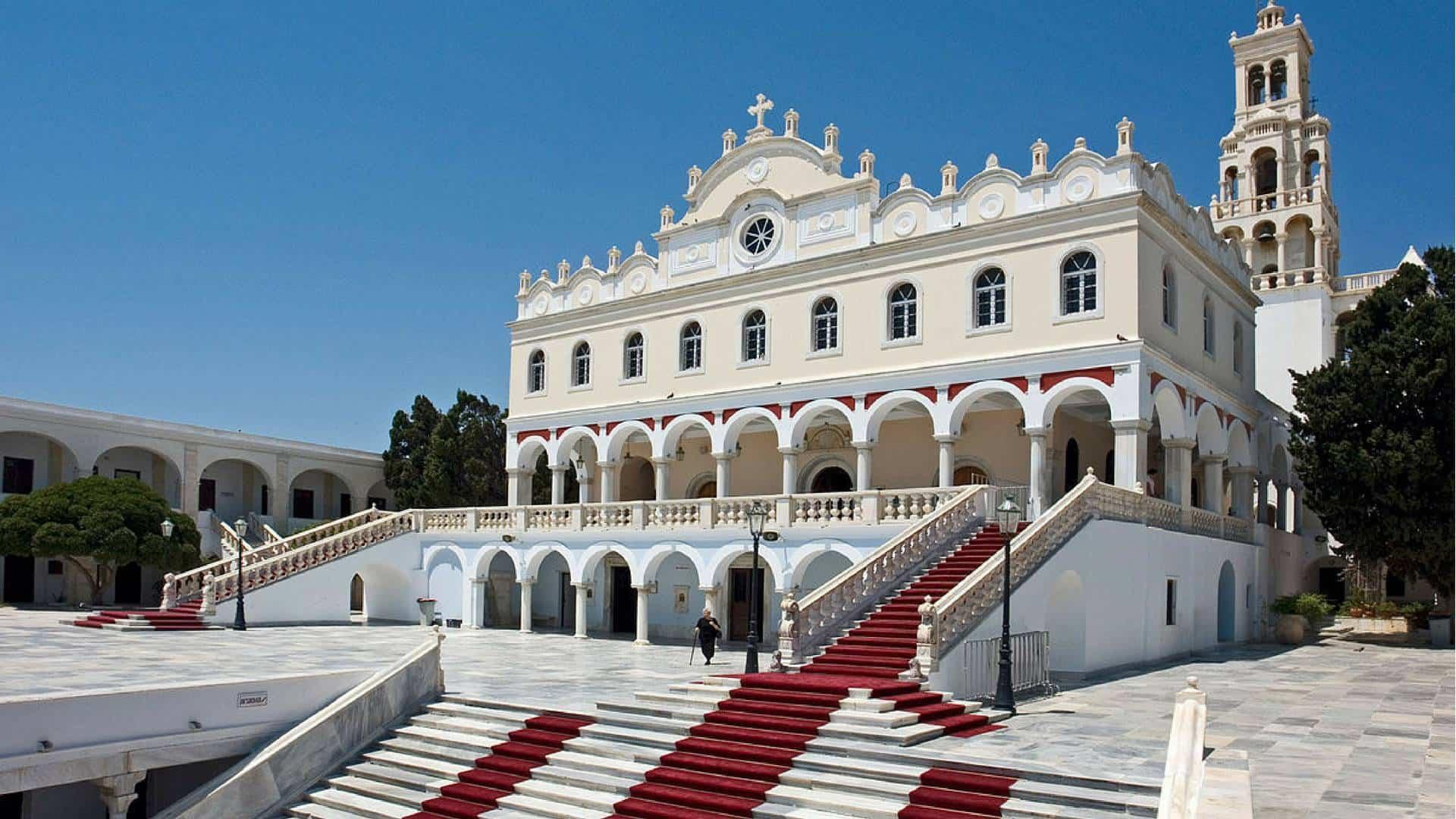Kościół na Tinos