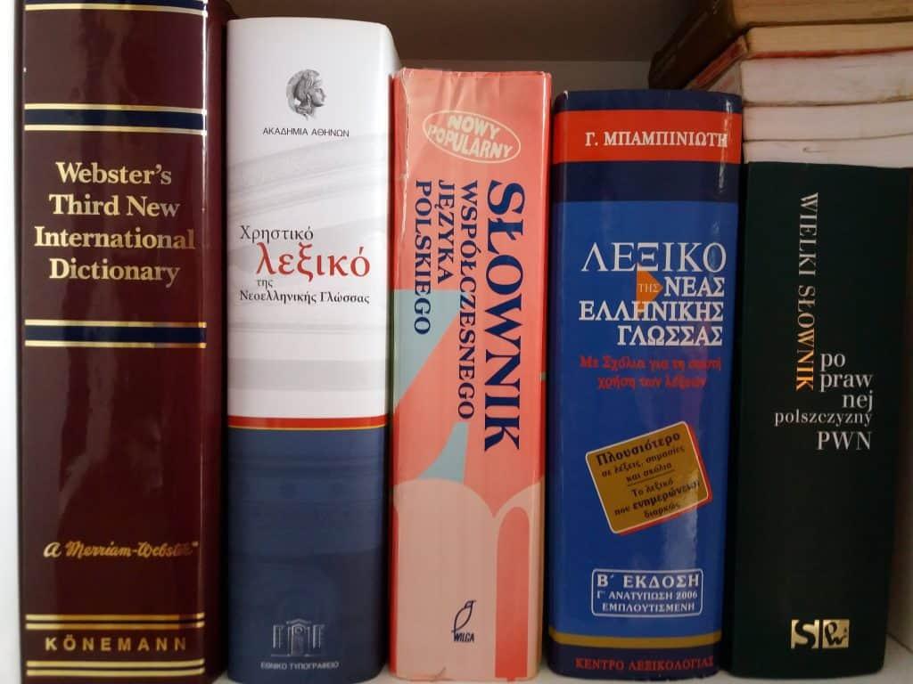 Moje słowniki